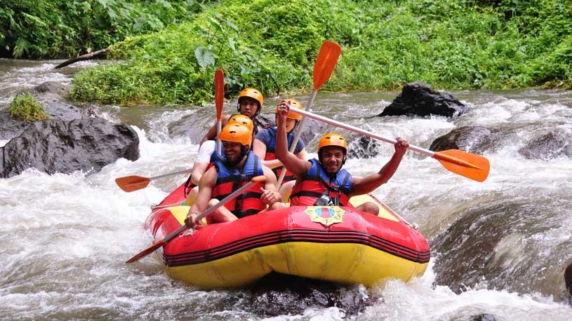 Mount Batur White water rafting